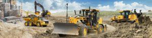 Погрузчик- экскаватор трактор JCB4CX банер
