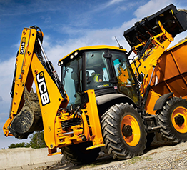 Погрузчик- экскаватор трактор JCB4CX photo